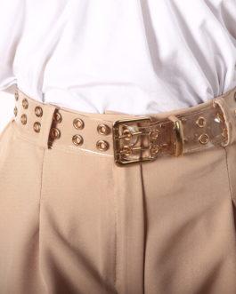 Cinturon Transparente