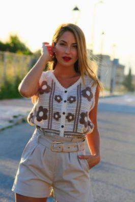 Chaleco Crochet