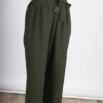 Pantalon Midi Ancho