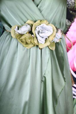 Cinturon Flores Cuerda