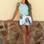 Short-Falda Flores